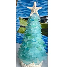 "Susan Marinaccio SEA GLASS TREE, large, @12-14"", SUSM"