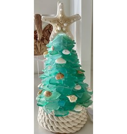 "Susan Marinaccio SEA GLASS TREE, small, @11"", SUSM"