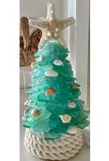"Susan Marinaccio SEA GLASS TREE, small, @11"", SUSM"