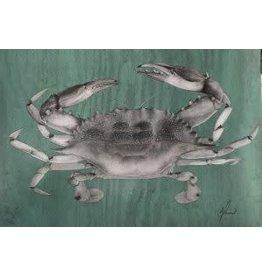 "Molly Pearce Blue Crab (8x11"" MOLP)"