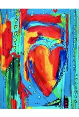 "Lisa Jill Allison SPLENDID SUNDAY, orig acrylic on GW canvas, 60x48"", LISA"
