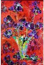 "Lisa Jill Allison GOOD MORNING, orig acrylic on canvas, 24x36"", LISA"