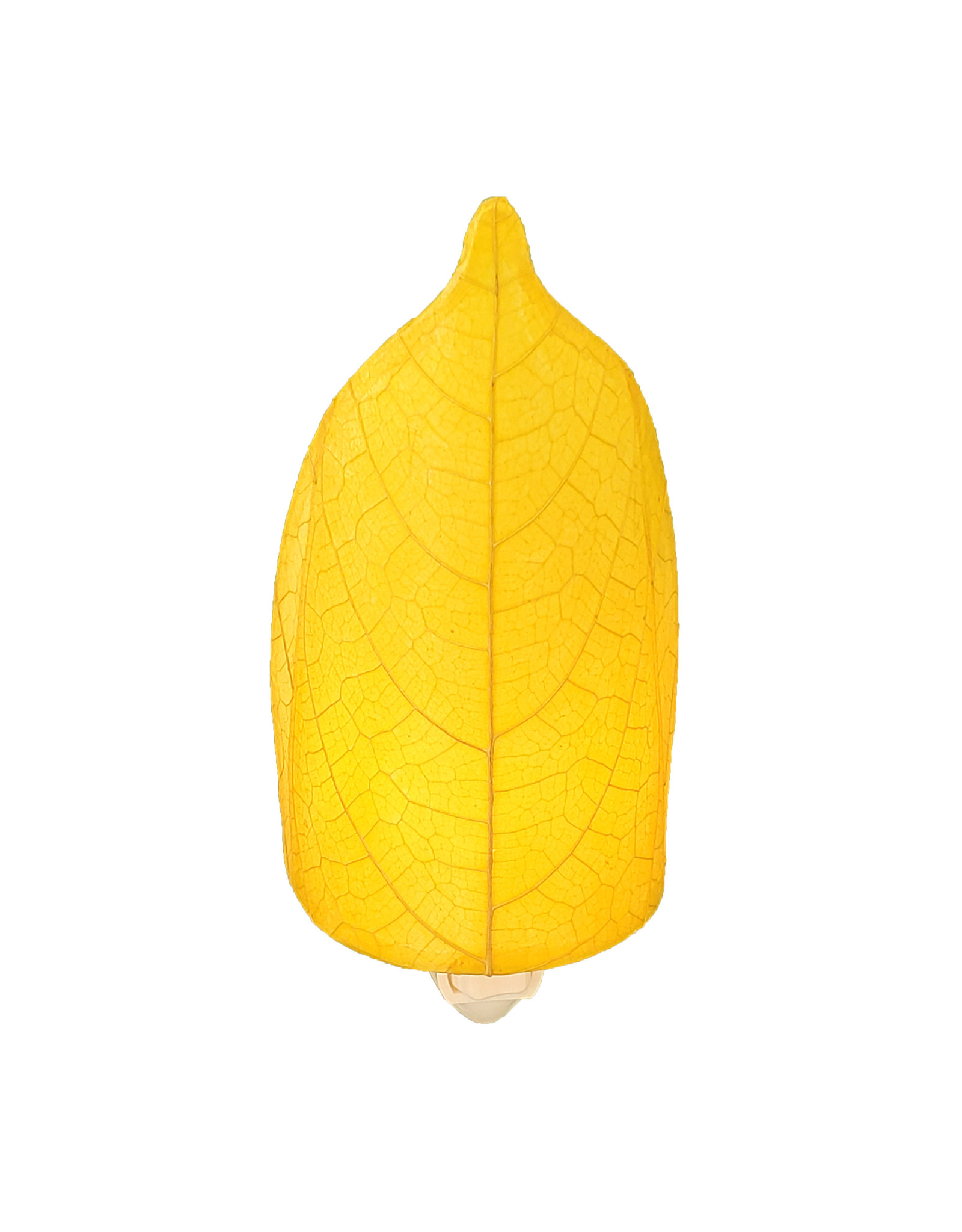Eangee Home Design NIGHLIGHT, LARGE LEAF, YELLOW