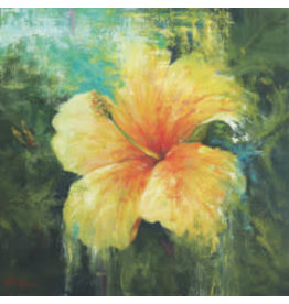 "Michaelann Bellerjeau TROPICAL TREASURE,  giclee print on paper, 11x11"" MICB)"