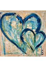 "Lisa Jill Allison TENDER BLISS, original acrylic on GW canvas, 48x48"", LISA"