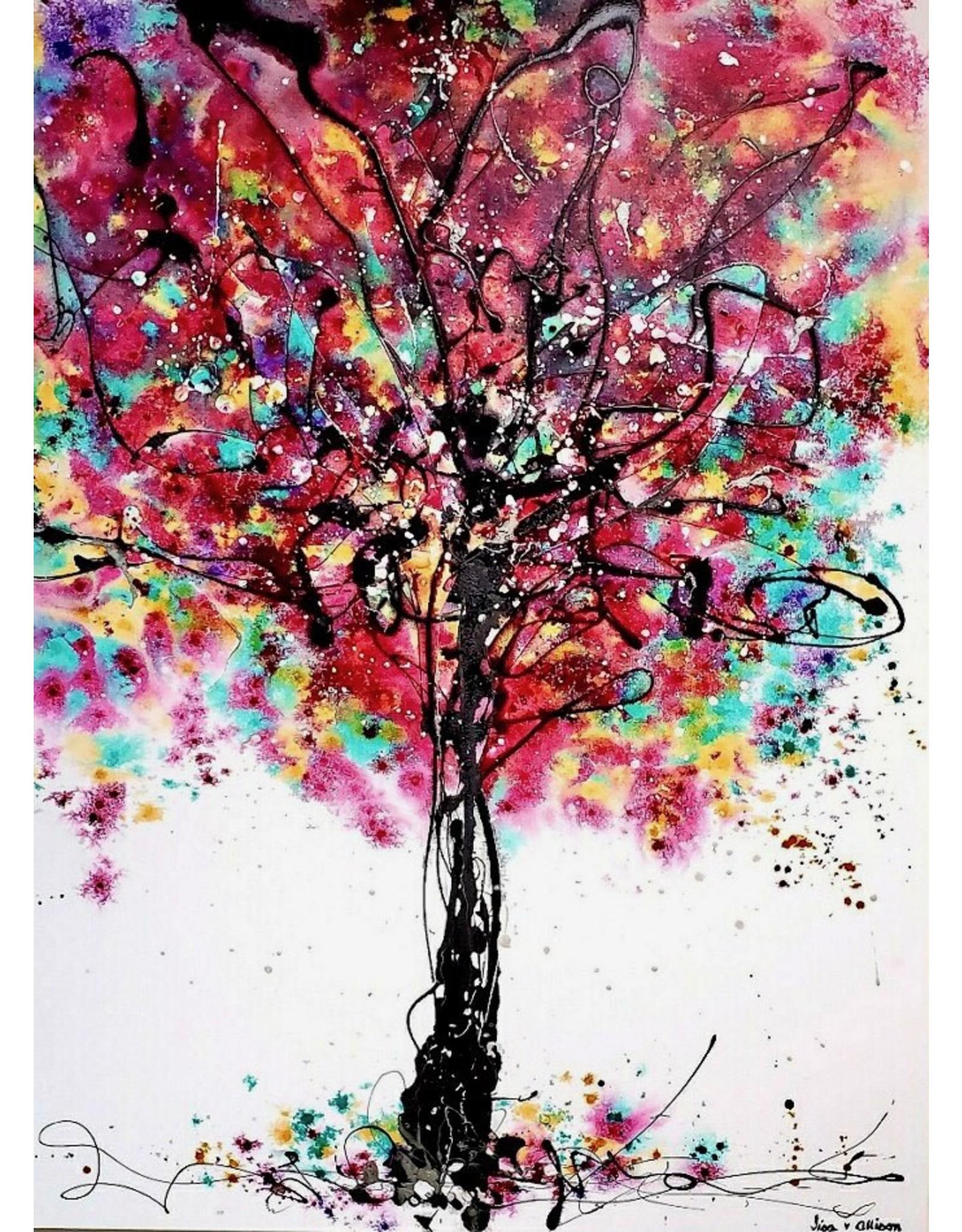 "Lisa Jill Allison LOVE'S IN FASHION, acrylic on GW canvas, 60x48"", LISA"