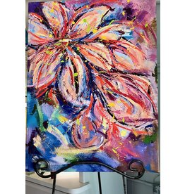"Teresa Kay Back in Bloom, giclee on canvas, 24x32"", TERK"