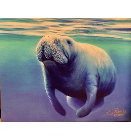 Susan Roberts NO WAKE ZONE (Giclee, Ltd. Ed, Gallery Wrap, 8x10, SUSR)