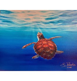 "Susan Roberts Sunny Days, giclee on GW canvas, 8x10"", SUSR"