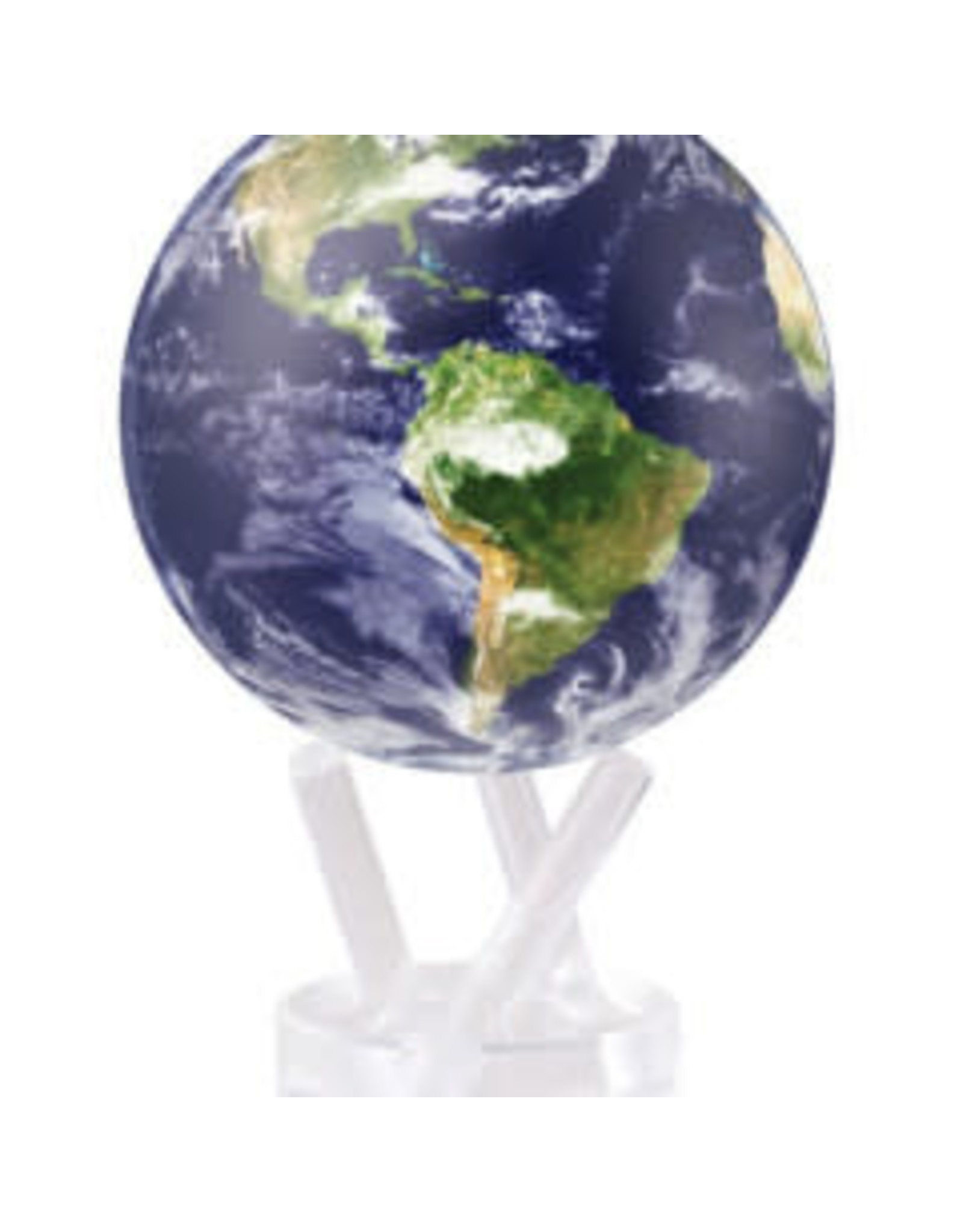 "Mova Globes EARTH WITH CLOUDS (MOVA Globe 8.5"" w/Acrylic Base)"