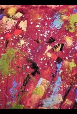 "Teresa Kay Where/Here,detail, embellished giclee on archival canvas, 16x20"", TERK"