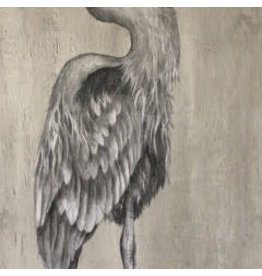 "Molly Pearce Blue Heron (24x14"" MOLP)"