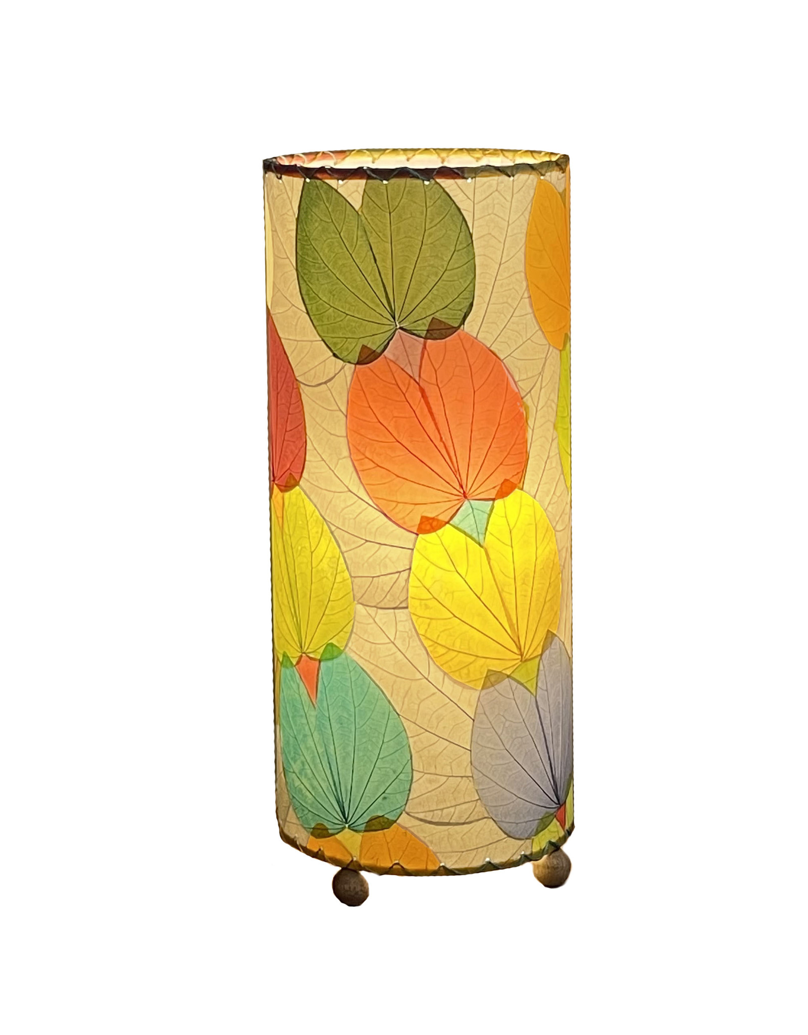 """Eangee Home Design Lamp, EANGEE, BUTTERFLY, Cylinder, 17x7"""", multi"""