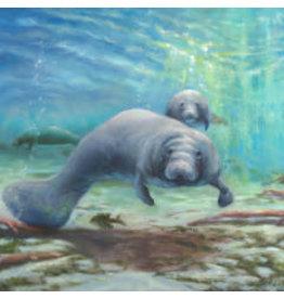 "Michaelann Bellerjeau Treasure Coast Treasures, archival giclee on canvas,10x12.5"" MICB"