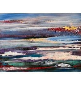 "Lisa Jill Allison THE SHOW BEGINS, orig. acrylic on GW canvas, 40x30"", LISA"