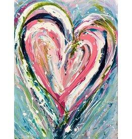 "Lisa Jill Allison TOGETHER FOREVER, acrylic on canvas, 40x30"", LISA"