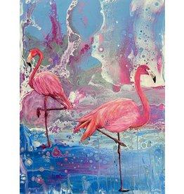 """Fiori Ferraris """"Strawberry Cassata"""" acrylic on canvas, 12x16"""" FIORI"""