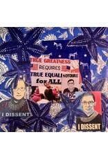 "Pam Maschal RBG BOX ""True Greatness"", collage 8.5"" sq, PAMM"