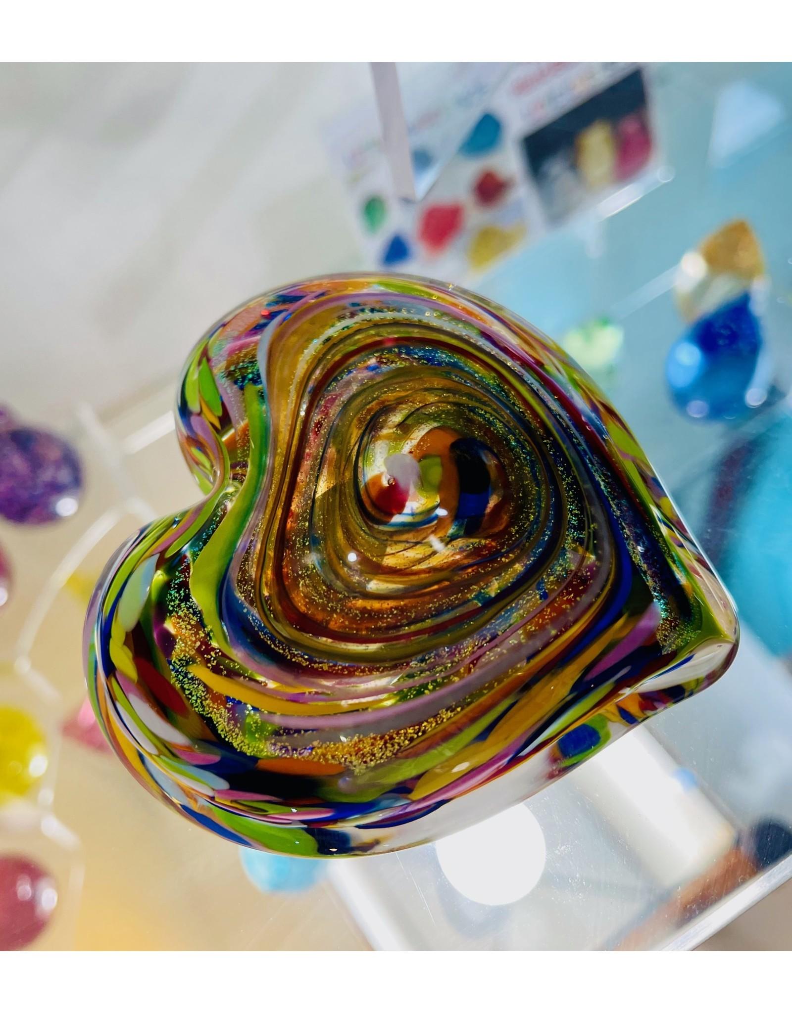 """Glass Eye Studio Heart of Fire, 3.5"""", GLAS"""