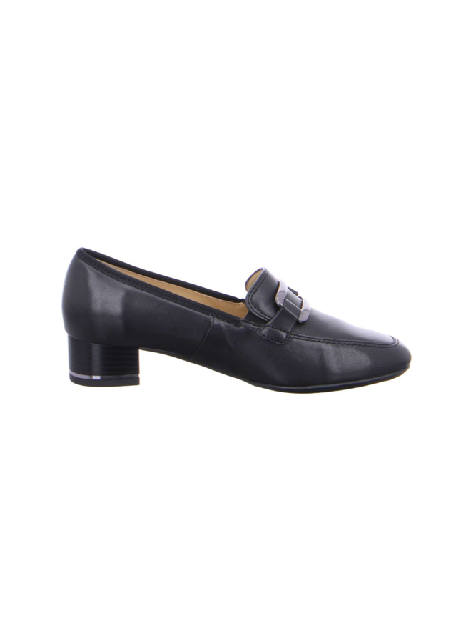 Slip on loafer stacked heel GERTRUDE 11808