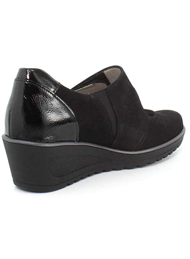 "Wedge 2"" shoe with Velcro HELEN  46118"
