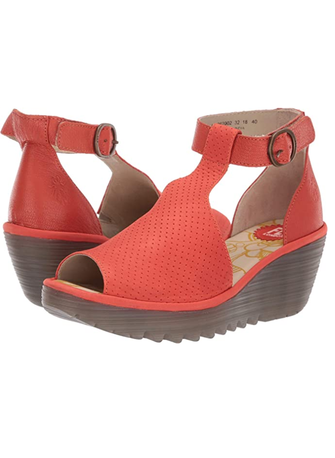 Wedge open-toe sandal YALL