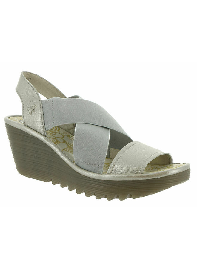 Crisscross Comfort Wedge YAJI