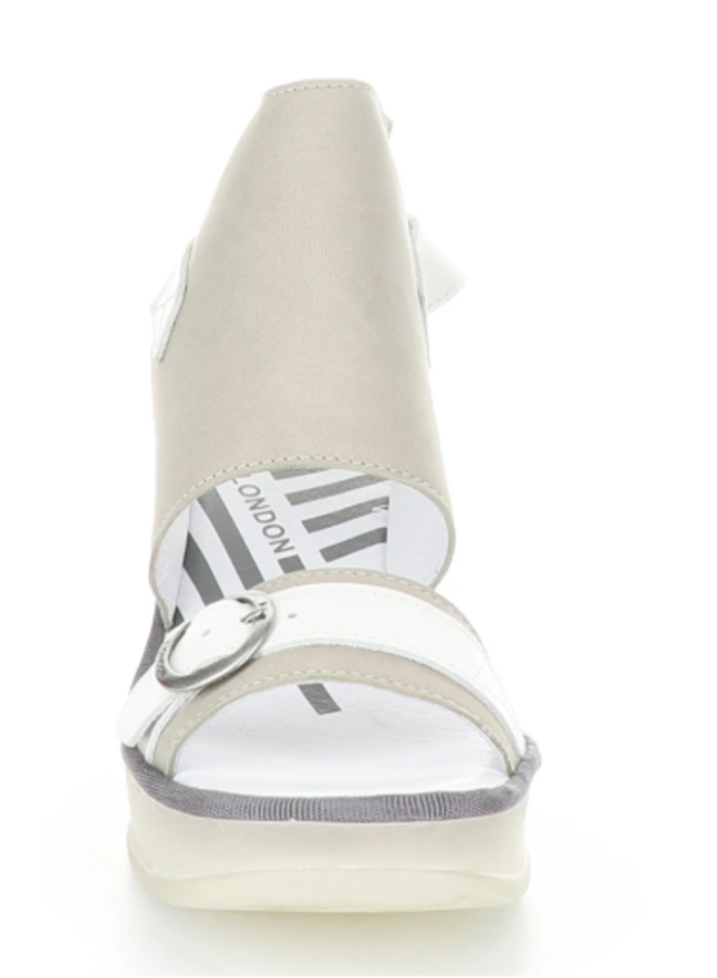 Leather Wedge Sandal JENO