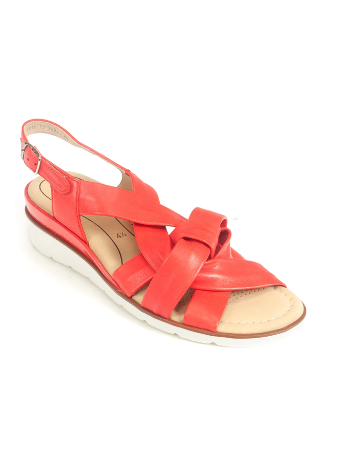 Multi criss cross strapped sandal LUCILLA 50076