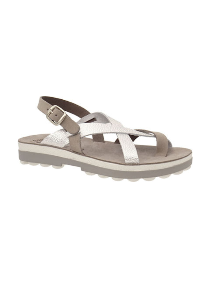 Bubble Crossover Strap Sandal FAY