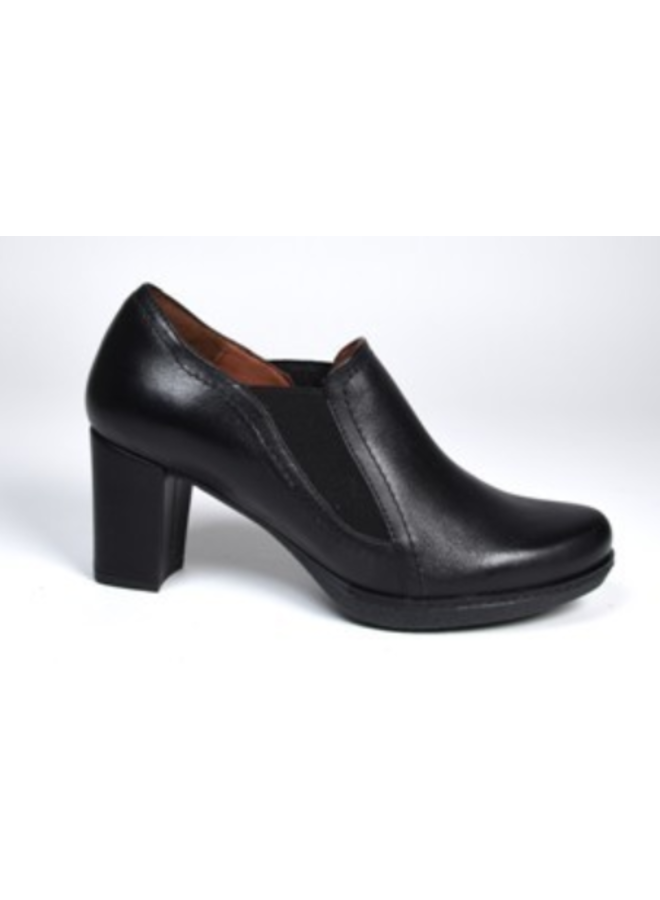 """Ankle bootie slip-on with 2.5"""" covered heel AXTOL"""