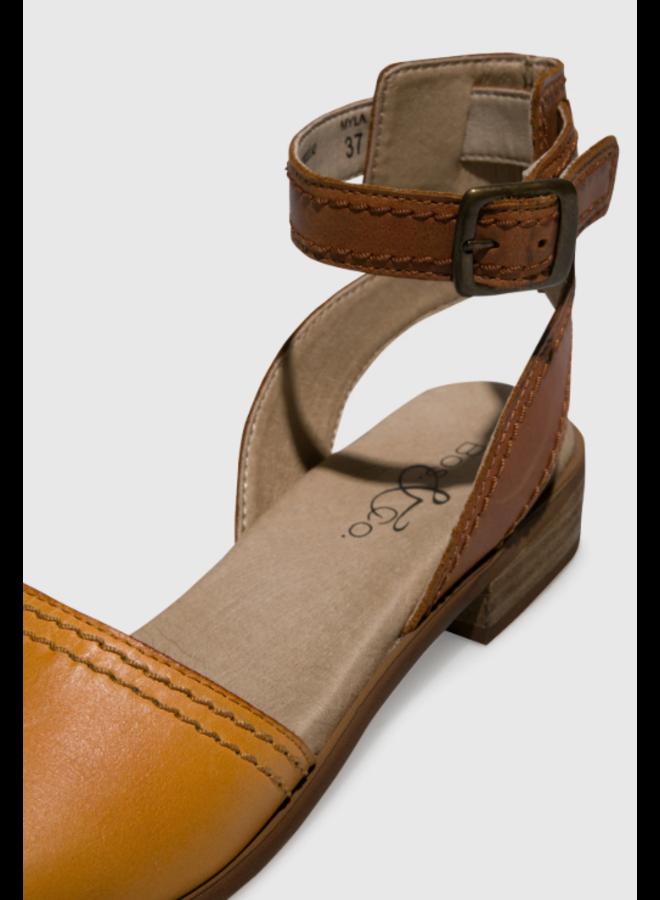Ankle Strap Flat Sandal MYLA