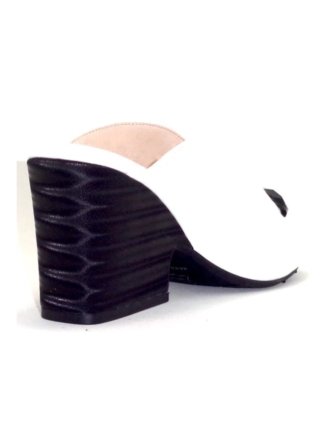 "Mule with 2.5"" decorative stack heel SALOME"