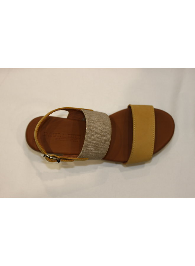 Wedge 2 strap sandal 1-8086