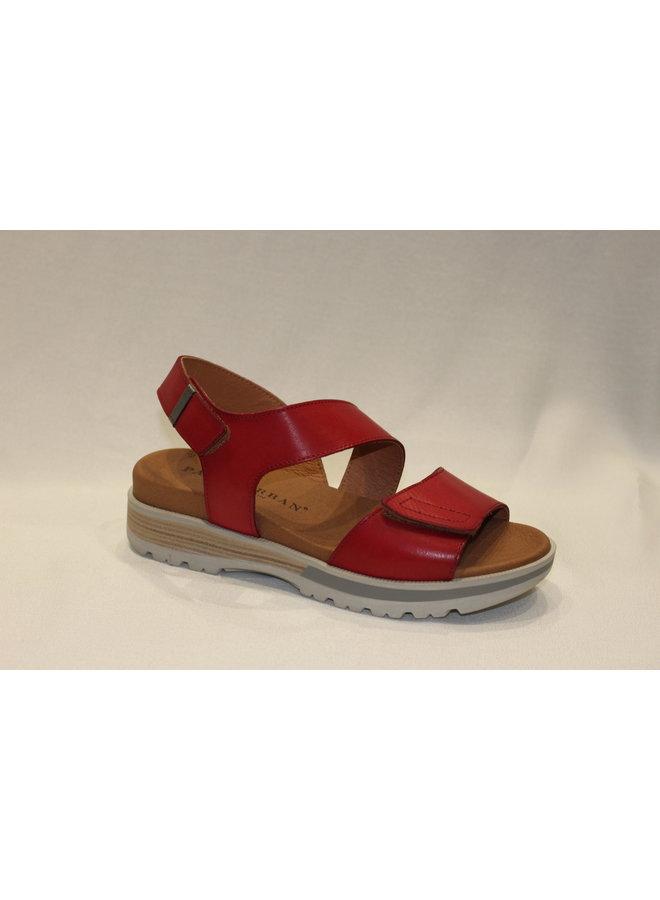 Crossover velcro sandal 7-72