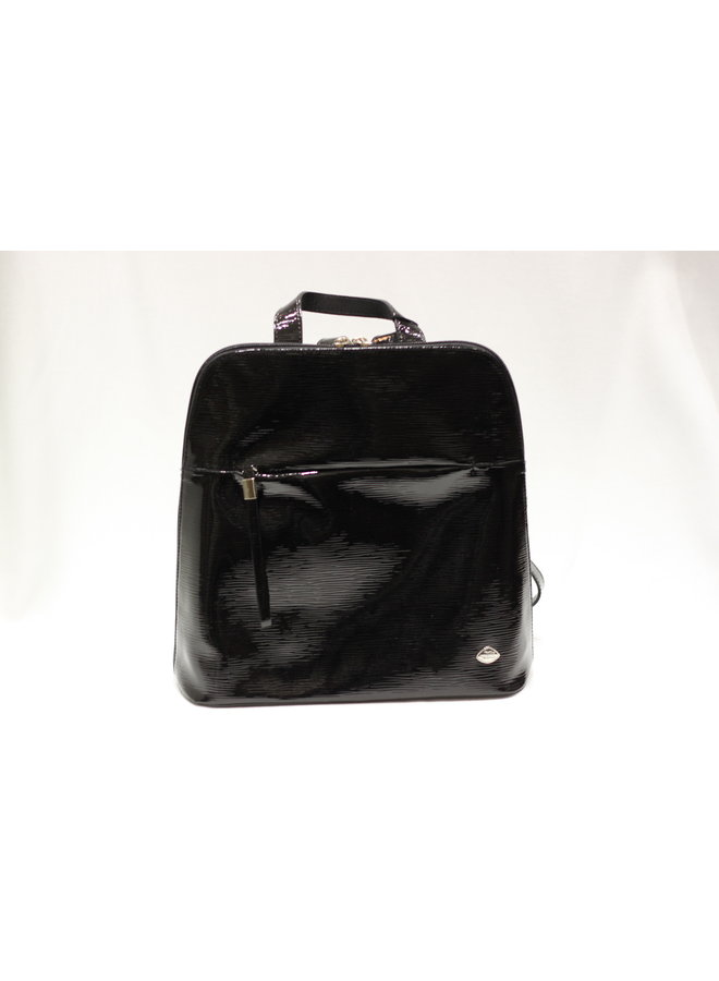 Midsize Patent Backpack 297537