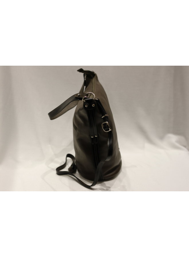 Small Bucket Handbag w/strap 078108