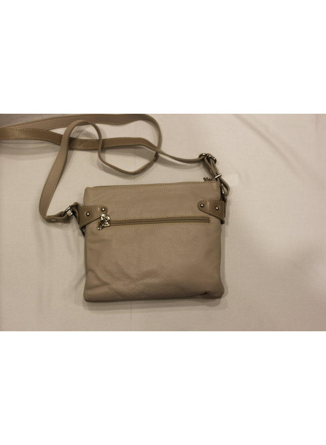Small 2 Pocket Crossbody Handbag 076044