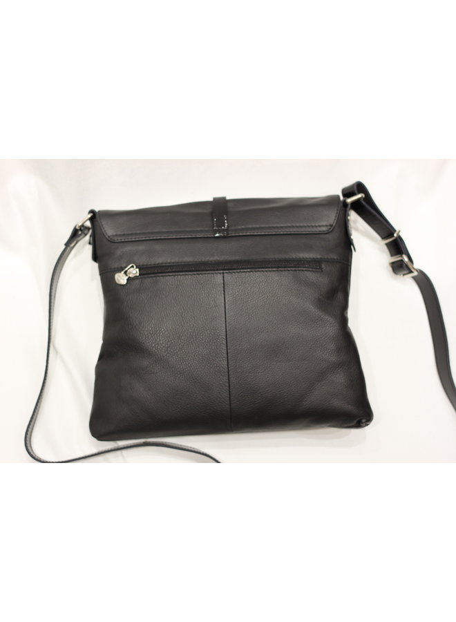 Midsize Flap Crossbody Handbag 378065