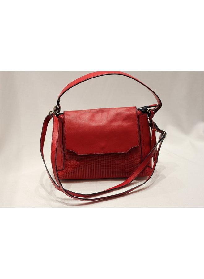Small Flap Crossbody Handbag w/strap 428061