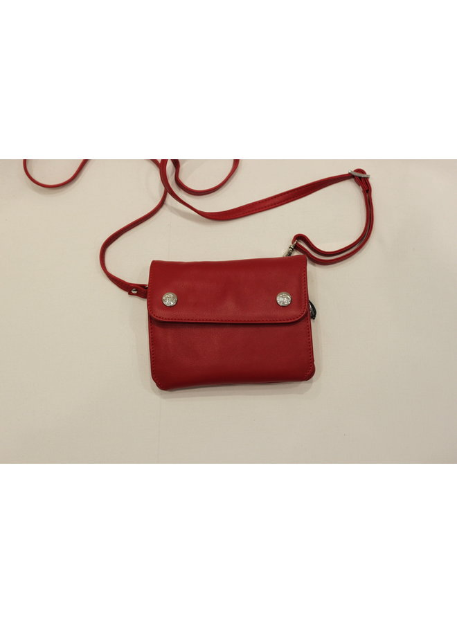 Small Flap Crossbody Handbag w/strap 585538