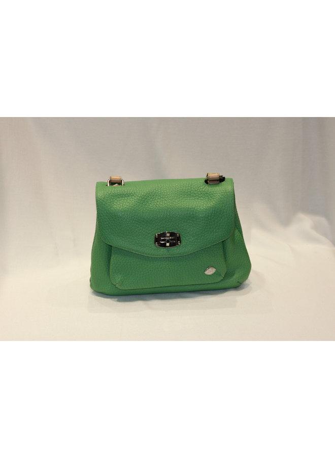 Small Contrast Flap Crossbody Shoulder Bag 748152