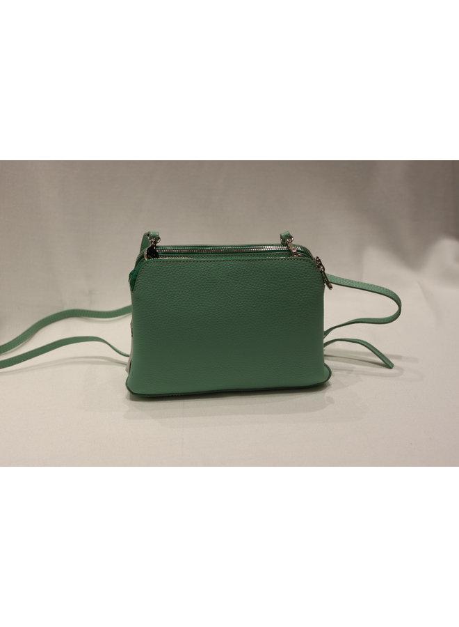 Small 2 Pocket Crossbody Handbag DF551