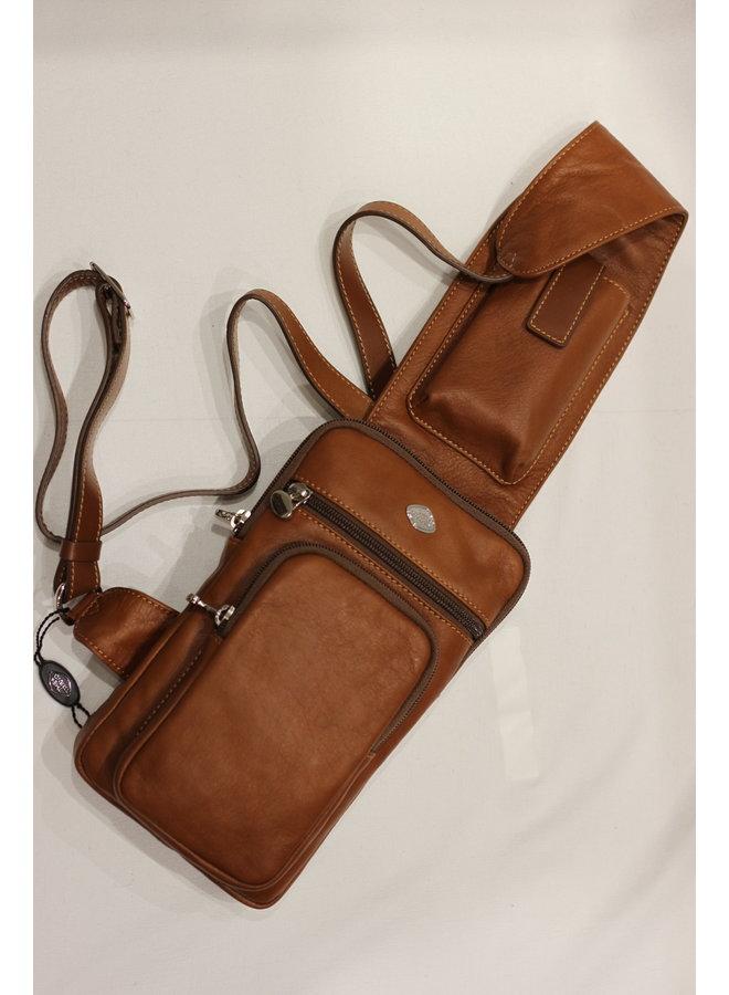 Crossbody Belt Handbag w/pockets 582170