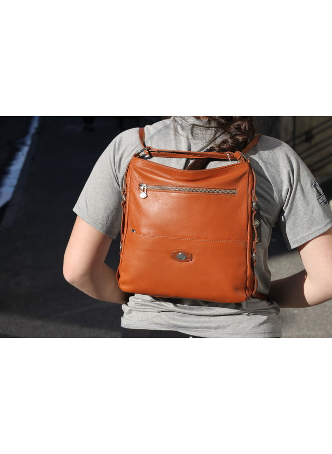 Midsize 3 in 1 Hybrid Flat Backpack 075817