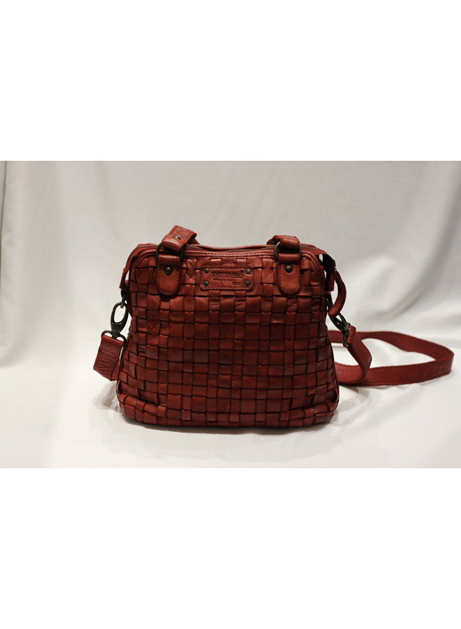 Small Weave Handbag w/strap