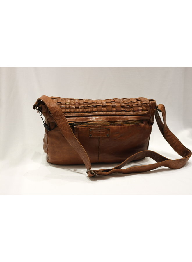 Large Weave Crossbody Messenger Bag 4502736