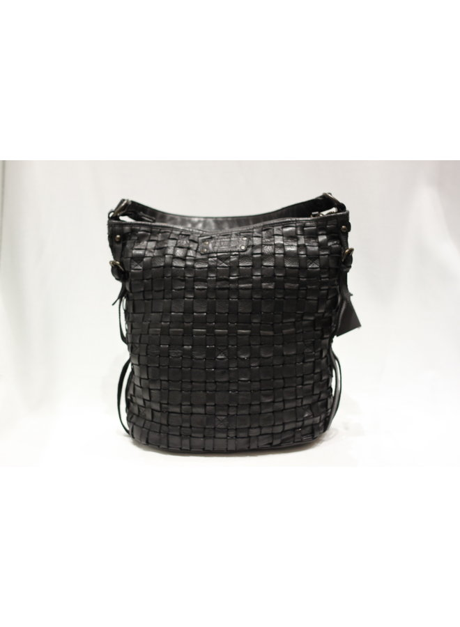 Large Weave Bucket Handbag w/strap 4503354