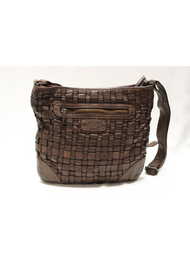 Small Weave Crossbody Handbag 4503372