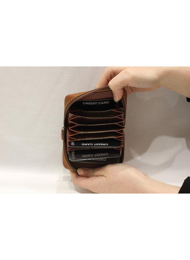Wallet Large cardholder zipped 587352